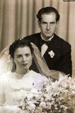 Casament d'Anton Català i Glòria Agràs